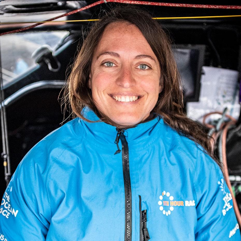 IMOCA 60 Co-skipper Justine Mettraux