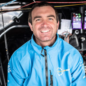11th Hour Racing Team co-founder and skipper Charlie Enright.