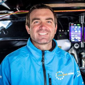 11th Hour Racing Team Co-skipper Charlie Enright