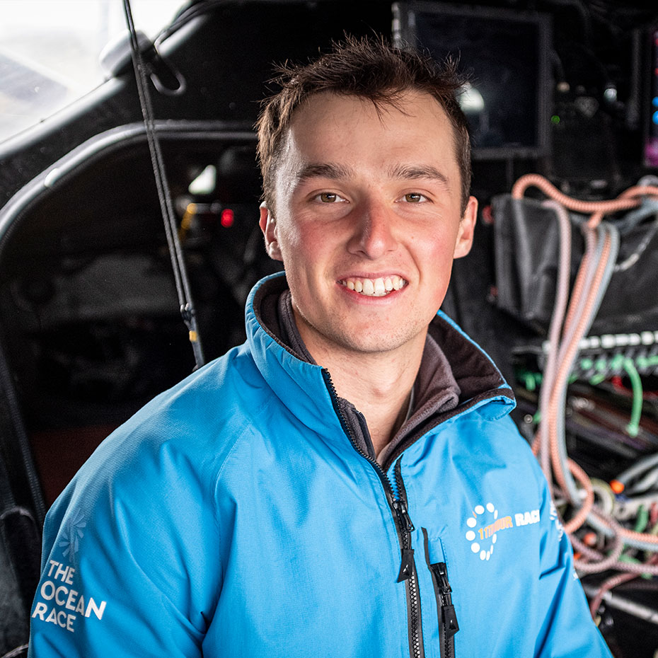 11th hour racing team shore crew member fin clark