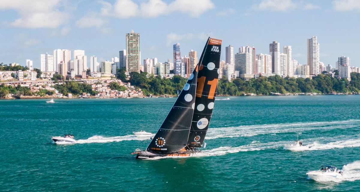 11th Hour Racing Team Finish 5th in Transat Jacques Vabre in Salvador De Bahia Brazil