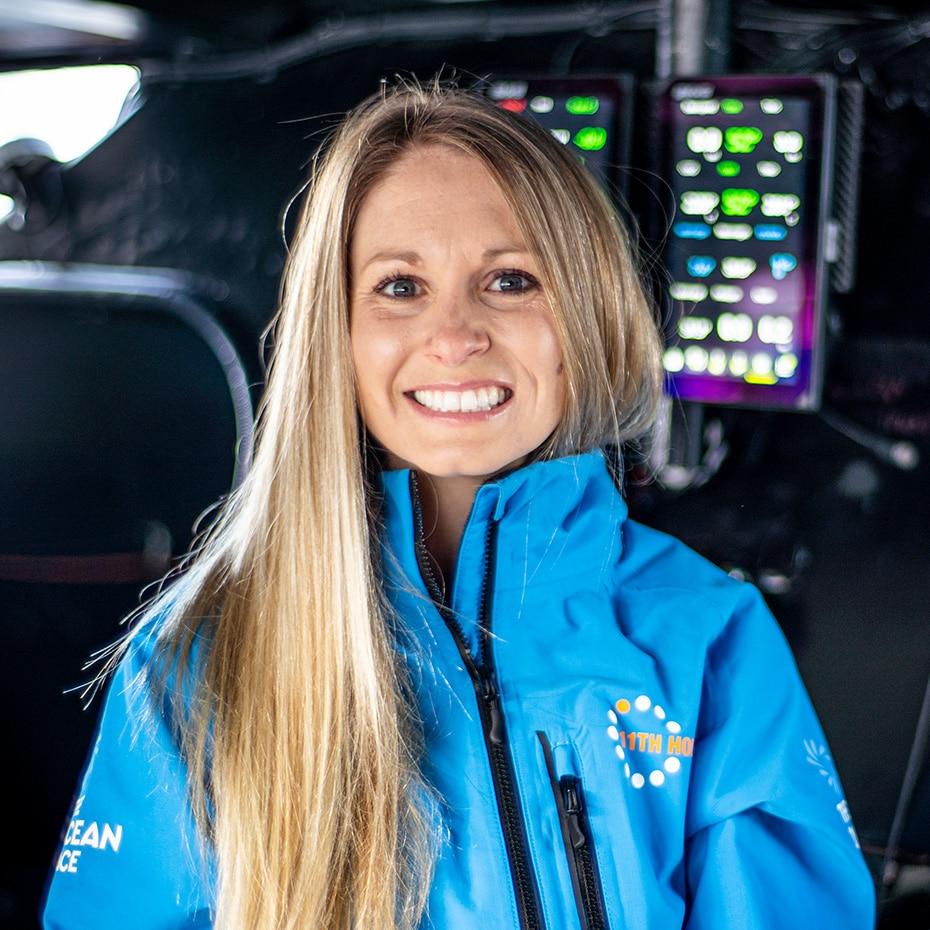 11th hour racing team digital media director Kristi Wilson