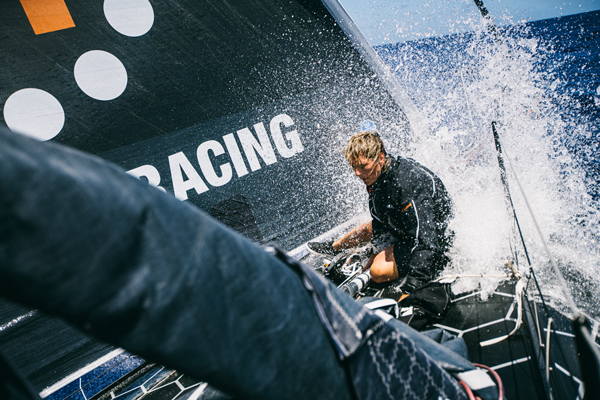 11th hour racing team musto official sailing clothing supplier