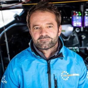 11th Hour Racing Team Co-skipper Pascal Bidégorry