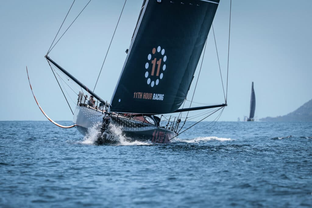 11th Hour Racing Team finish in 3rd place in Leg 2 of The Ocean Race Europe