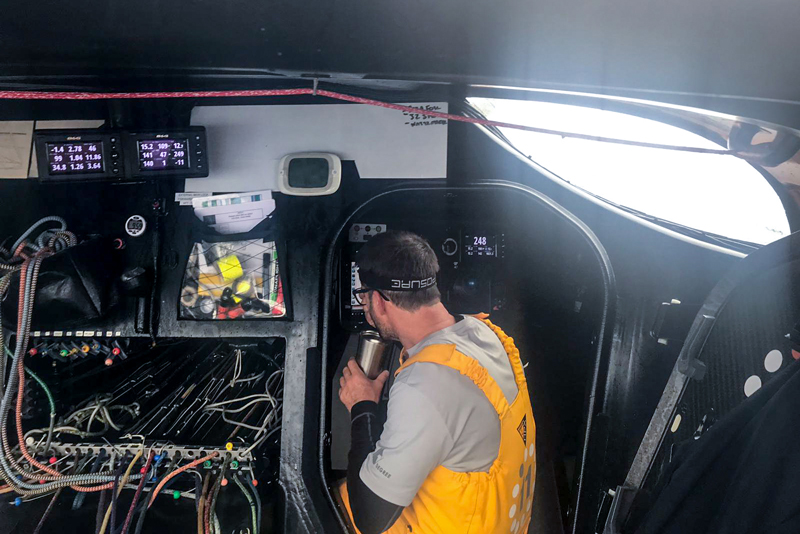Transat Jacques Vabre Day 4 onboard 11th Hour Racing.
