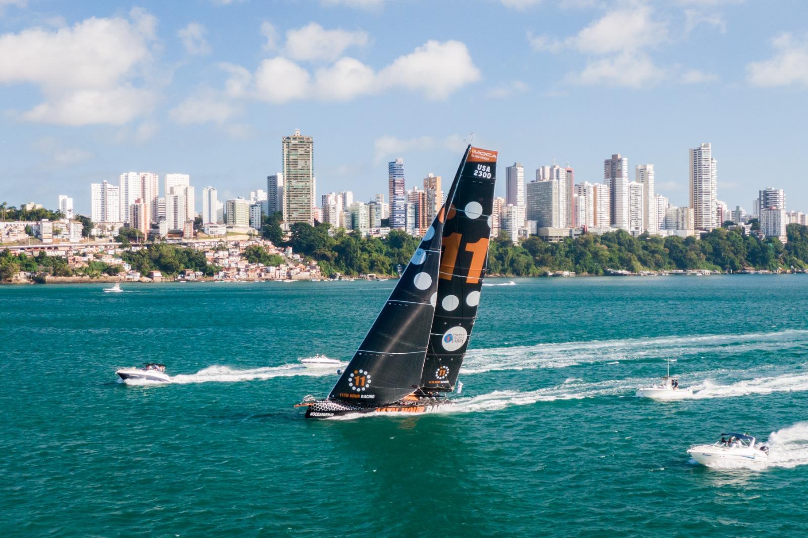 11th Hour Racing Team Finish 5th in Transat Jacques Vabre in Salvador De Bahia Brazil
