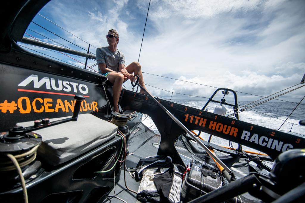 11th hour racing team transatlantic delivery kyle langford IMOCA