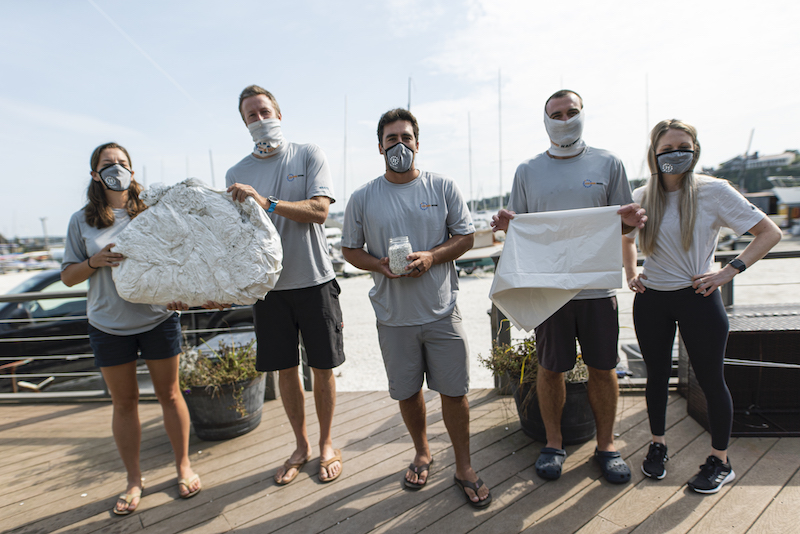 11th Hour Racing Team participates in an #OceanHour session with Clean Ocean Access, an 11th Hour Racing grantee based in Rhode Island.September 9, 2020. 11th Hour Racing Team meets virtually with Clean Ocean Access to learn about their shrink-wrap recycling program for boats owners who wrap their vessels with shrink-wrap for winter storage.