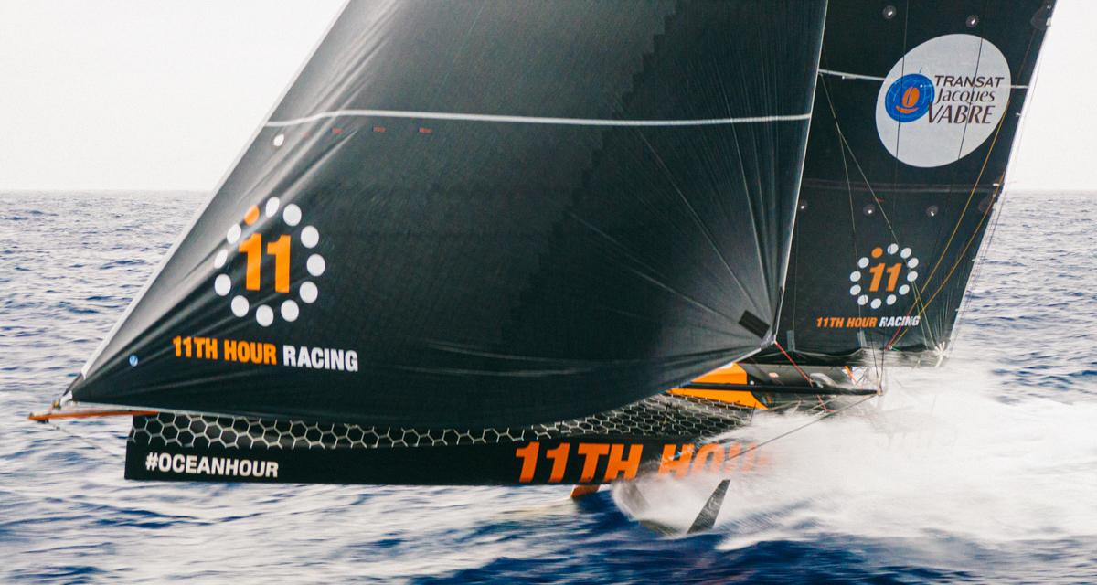 11th hour racing team epic foiling imoca 60 transatlantic