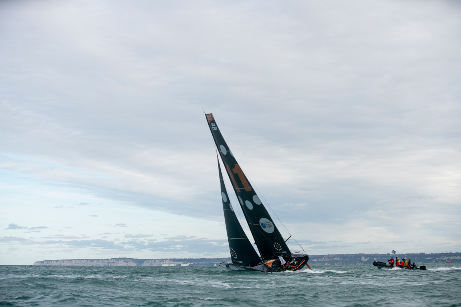 11th Hour racing team depart for brazil in the transat jacques vabre