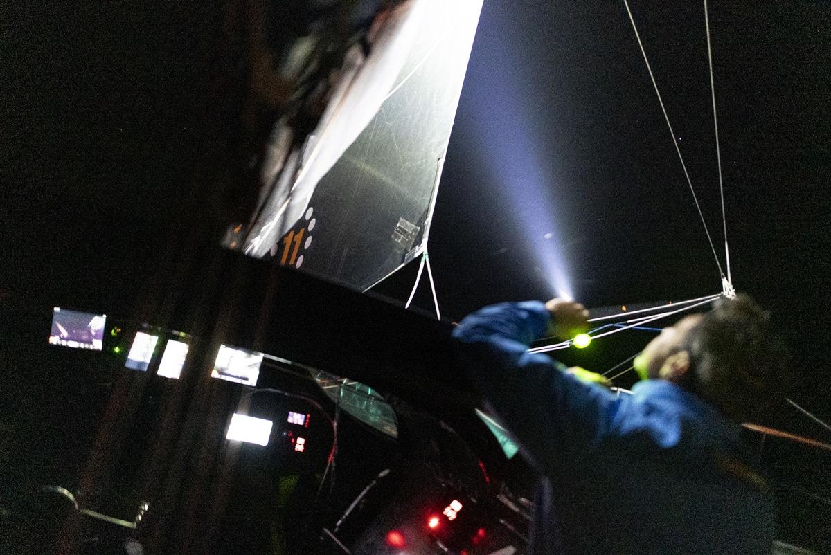 Exposure Olas Headlights On Board 11th Hour Racing Team Boat