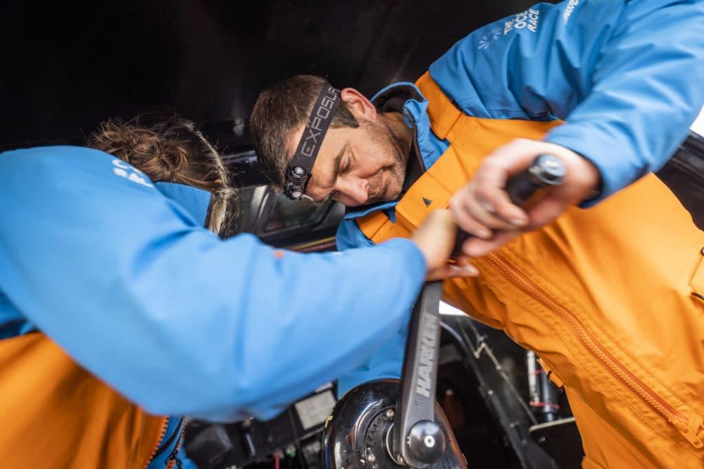 11th Hour Racing Team using Exposure OLAS headlamp