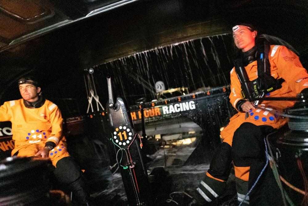 11th Hour Racing Team - Leg 2 Day 1 The Ocean Race Europe