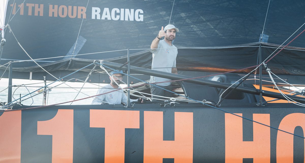 transat jacques vabre finish 11th hour racing team 4th place after penalty