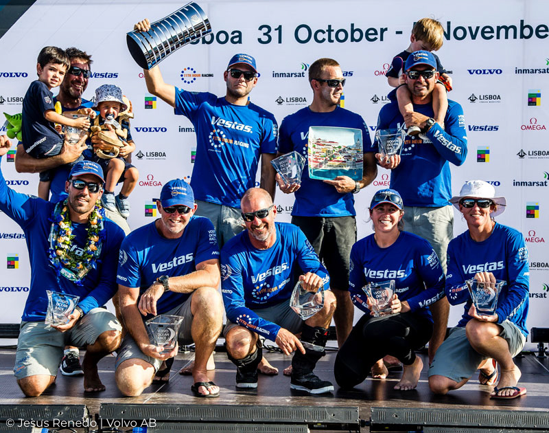 Vestas 11th Hour Racing Volvo OCean Race Leg 1 Win